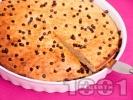 Рецепта Лесен бананов сладкиш / кекс с шоколад
